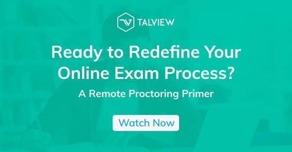 Remote Proctoring Webinar