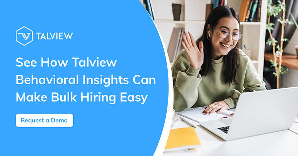 Request a Demo for Talview's Behavioral Insights