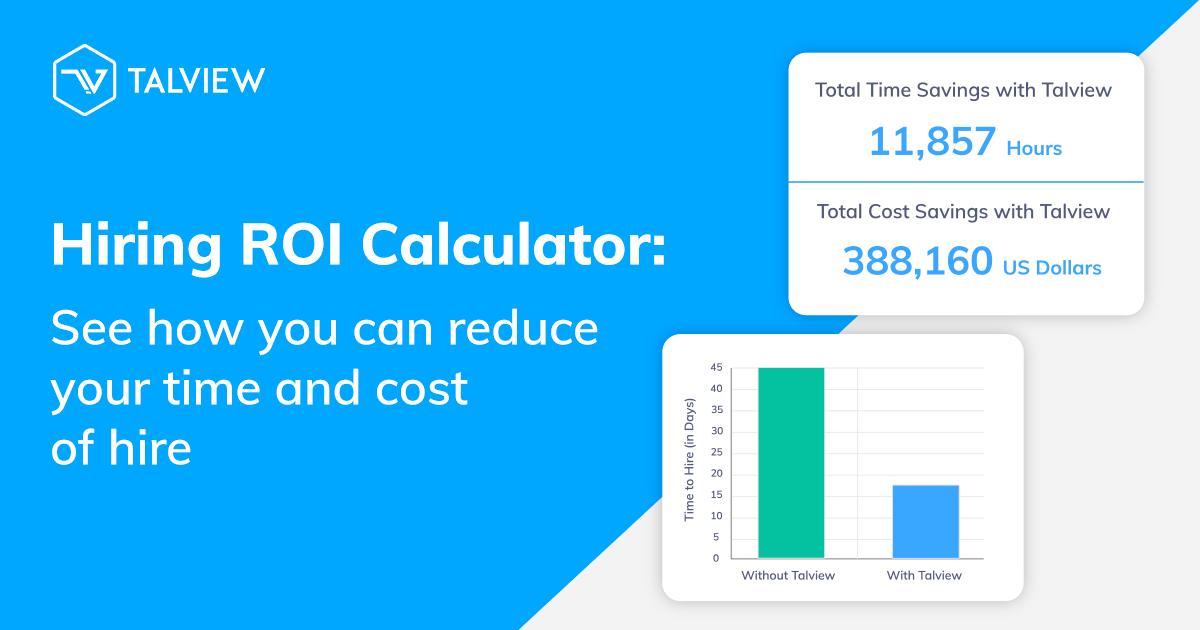 Talview Hiring ROI Calculator