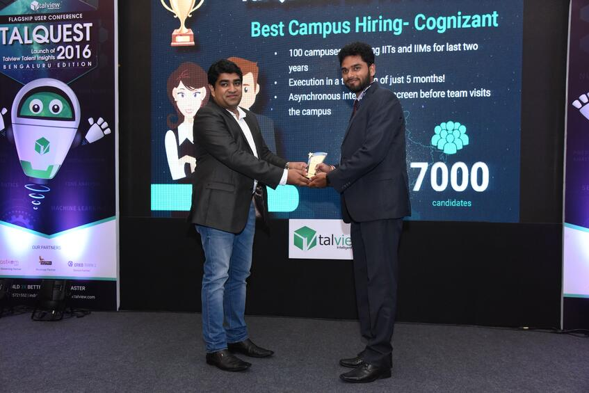 Best Campus Recruitment - Cognizant