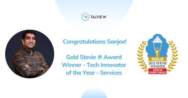 Sanjoe Gold Steve Award winner