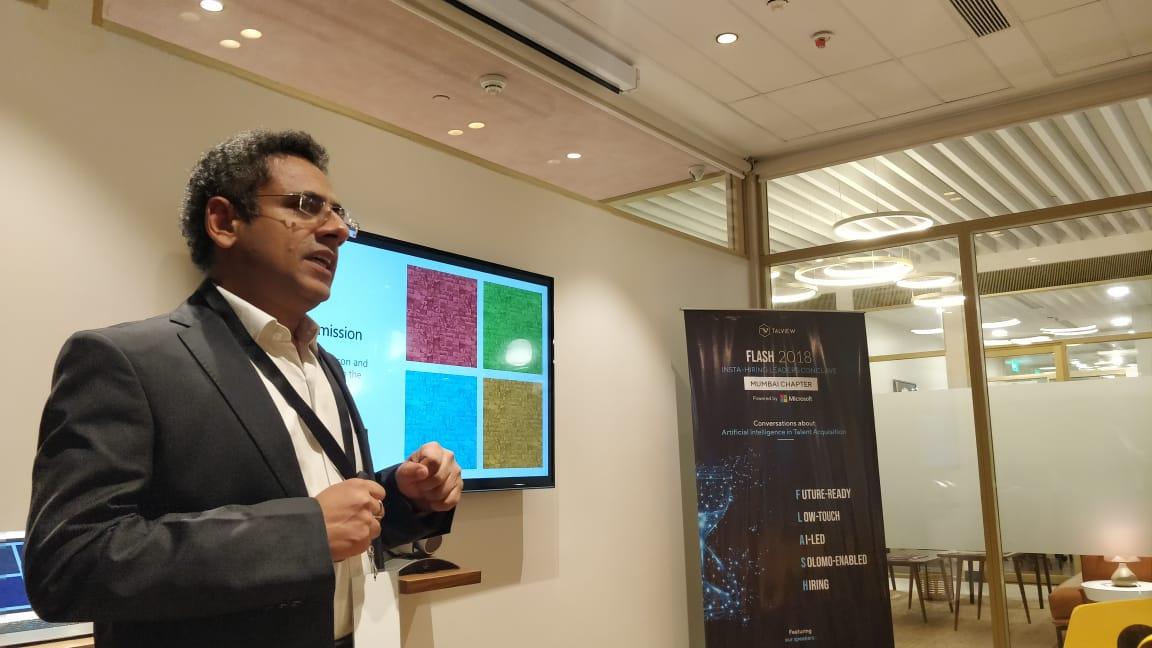 Anil Mathur at FLASH, Mumbai.