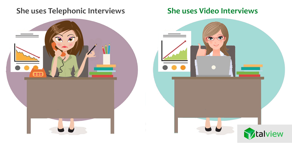 Video Interviews better than telephone interviews