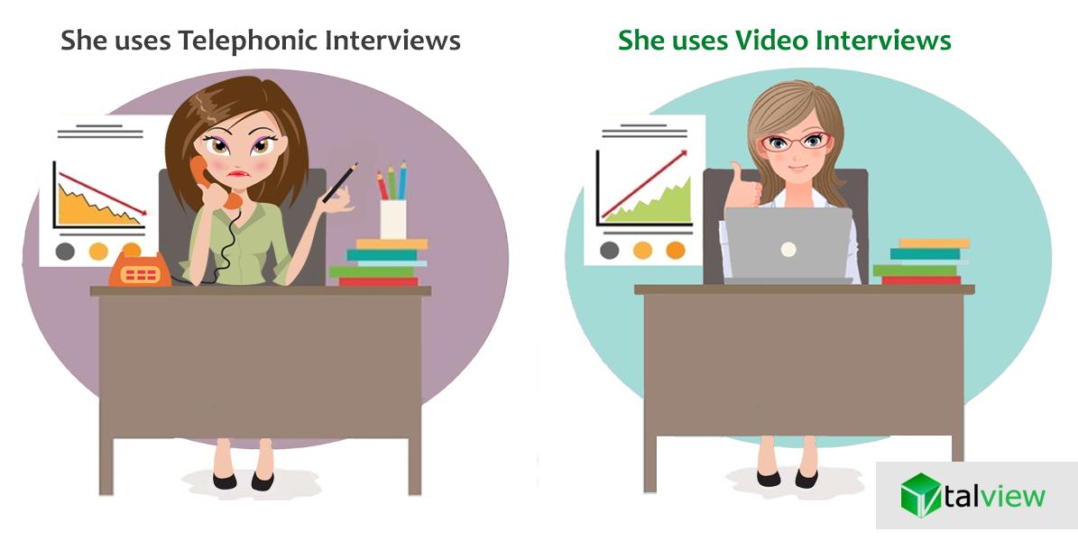Telephonic Interviews vs Video Interviews
