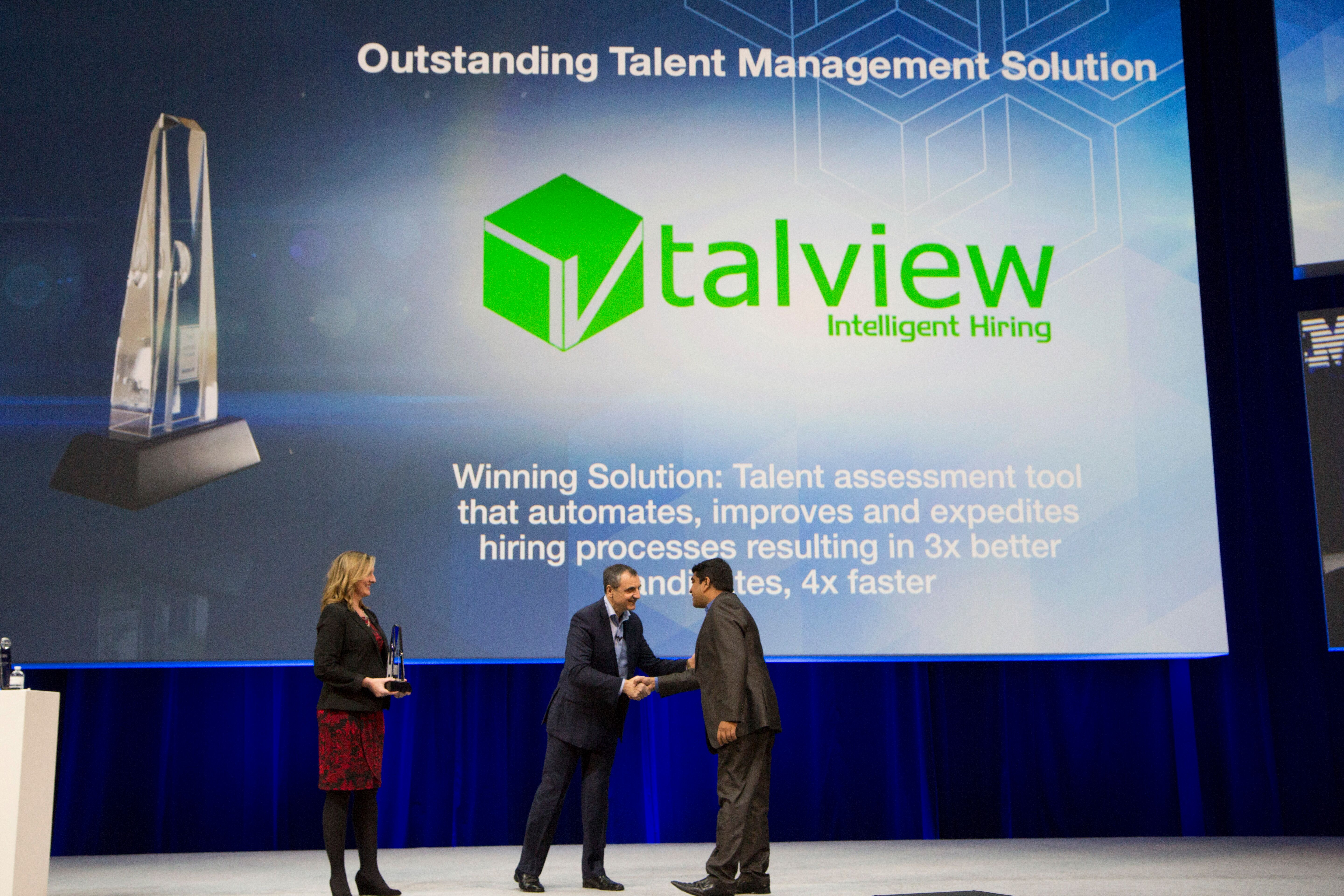 talview wins ibm beacon award for talent management solution