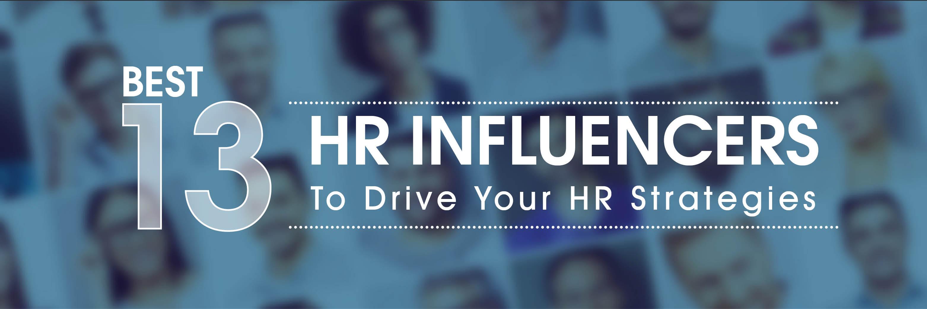 13 best hr influencers