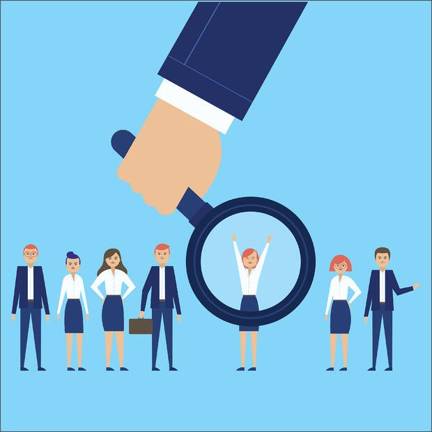 selecting potential employees