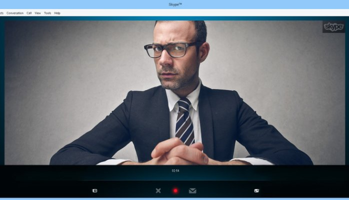 Disadvantages of using Skype for Video Interviews