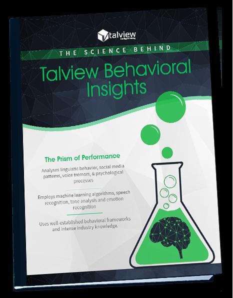 Talview Behavioral Insights