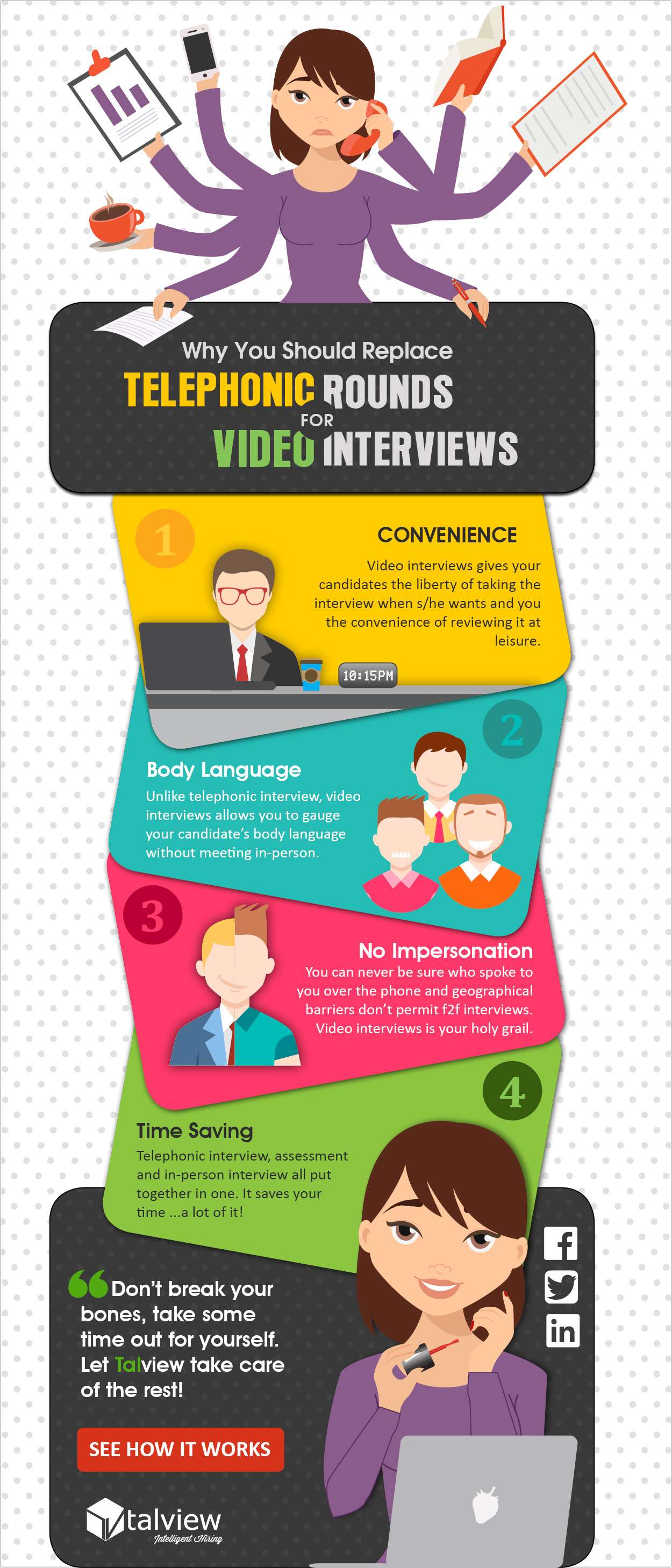 Why Video Interviews Instead of Telephonic